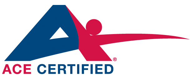 ACE certified logo